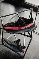 Взуття Adidas Yeezy Boost 350 V2 Black\Red 40, фото 1