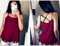 Блузка с кружевом , фото 1
