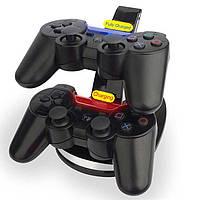 USB подставка - зарядка для джойстика PS3 (2в 1) Зарядная станция для 2 контроллеров, фото 1