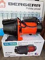Насос побутовий Польща 1.1 кВт великої потужності Ватерн Watern JET100
