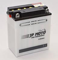 Аккумулятор мотоциклетный 12Ah-12v CB12A-A (YB12A-A) JP Moto, 12В, 12Ач, EN155А