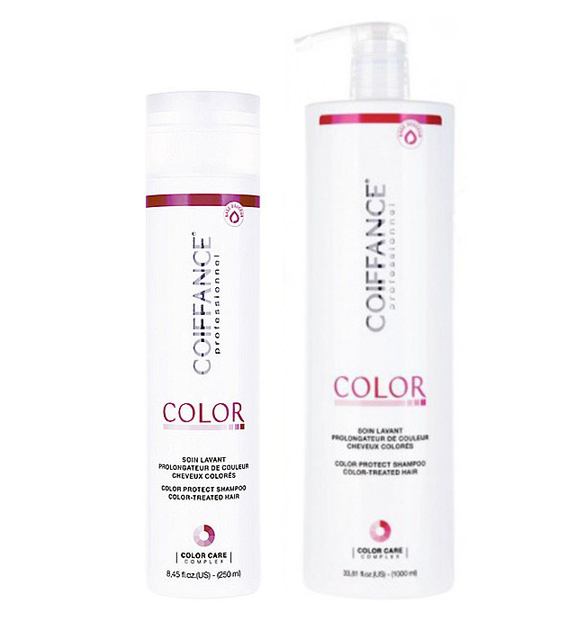 Шампунь для защиты цвета  COIFFANCE Intense color protect shampoo 1000 ml