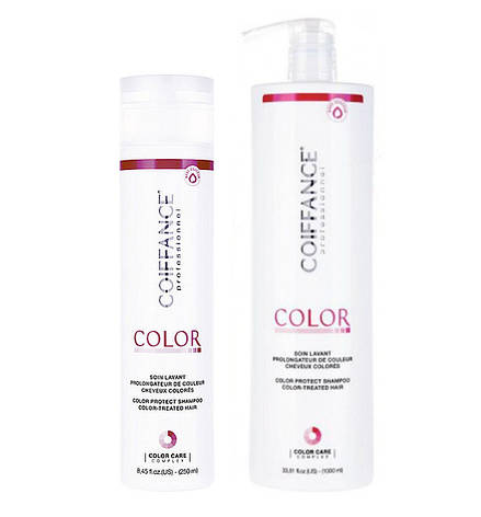 Шампунь для защиты цвета  COIFFANCE Intense color protect shampoo 1000 ml, фото 2
