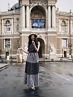 """Длинное платье в пол """" Софт """" Dress Code, фото 1"""