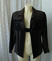 Куртка женская жакет шерсть лен бренд Marc Aurel р.48