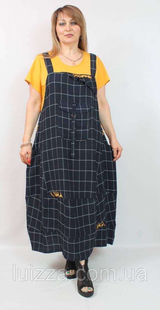 Женское турецкое платье Dolares 52-64р