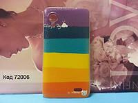 Чехол на Lenovo S720 оригинальная панель накладка с рисунком радуга