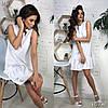 Платье, ткань: костюмка.  Размер:С,М. Разные цвета ( В419 ), фото 2