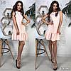 Платье, ткань: костюмка.  Размер:С,М. Разные цвета ( В419 ), фото 3