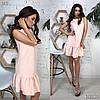 Платье, ткань: костюмка.  Размер:С,М. Разные цвета ( В419 ), фото 4