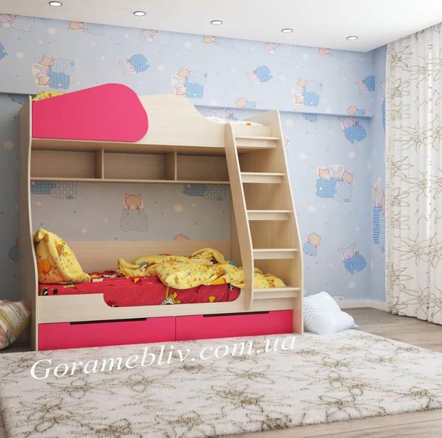 """Фото: кровать детская двухъярусная """"Балу"""" в интерьере"""