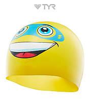 Силиконовая шапочка для плавания TYR Super Day (Yellow)