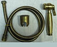 Гигиеническая лейка в наборе бронза Bugnatese 19380