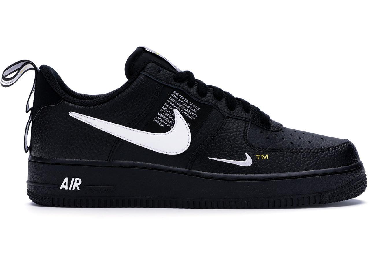 68ac1056 Мужские кроссовки Nike Air Force 1 Low x 07 LV8 Utility x Black White -  Магазин