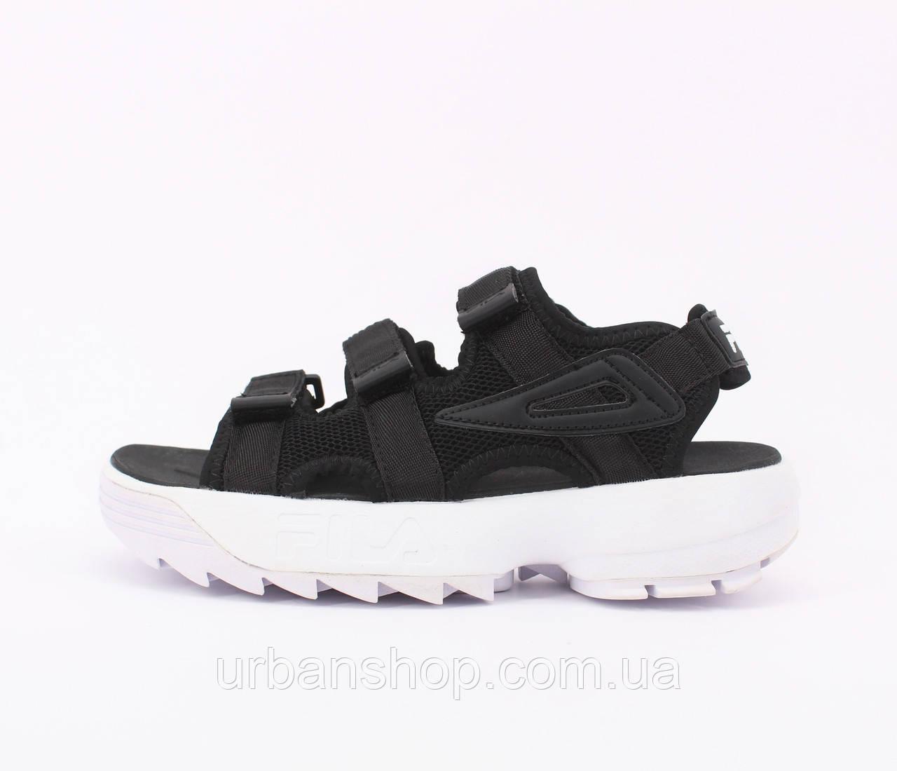 Взуття FILA Сандалі Чорні 35