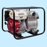 Мотопомпа HONDA WT30XK3 DE (74.4 м3/ч), для грязной воды