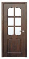 Дверь межкомнатная Модель КЛАССИК (остеклённая), цвет под заказ
