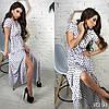 Сукня з принтом міді, тканина: софт. Розмір: С,М. Різні кольори (6493), фото 3