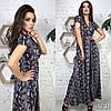 Сукня з принтом міді, тканина: софт. Розмір: С,М. Різні кольори (6493), фото 8
