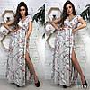 Сукня з принтом міді, тканина: софт. Розмір: С,М. Різні кольори (6493), фото 10