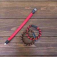 Аксесуар для телефону Браслет-кабель для iPhone red