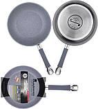 Сковорода Bergner Master Pro Ø20см индукционная с антипригарным покрытием, фото 2