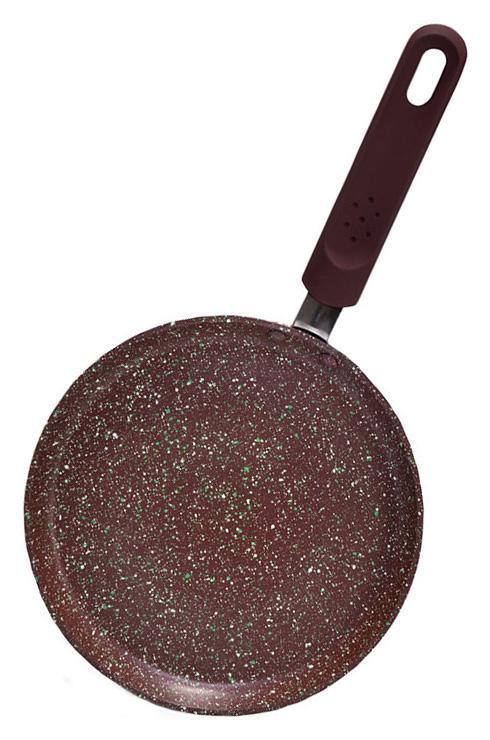 Сковорода блинная Fissman Mosses Stone Ø24см с антипригарным покрытием