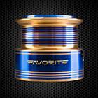 Котушка спиннинговая Favorite Sapphire 4000 5,2:1 6+1, фото 9