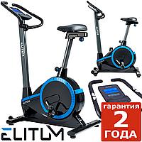 Електромагнітний велотренажер Elitum RX700 black до 150 кг. Гарантія 24 міс.