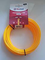 Леска круг желтая 2.7 мм