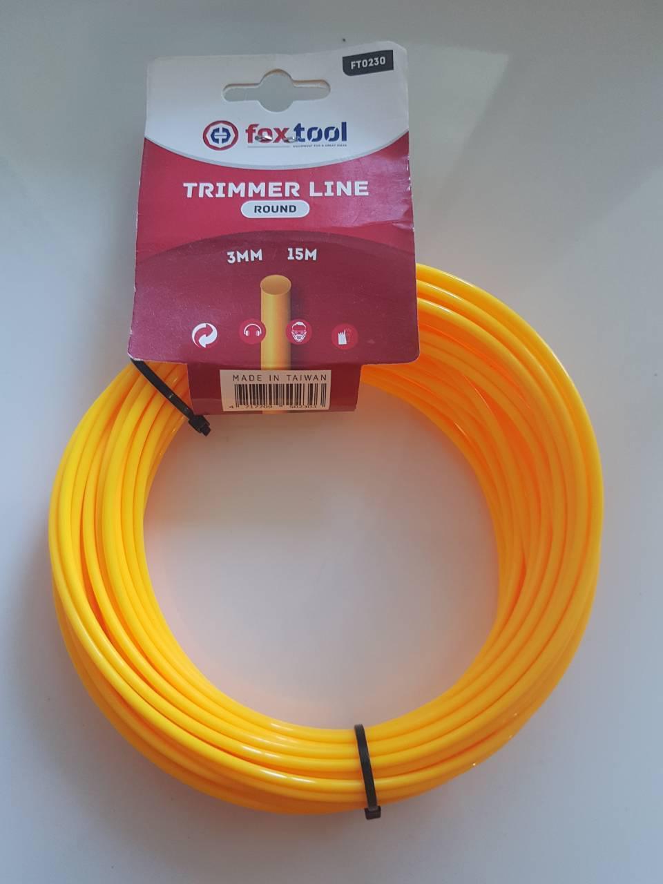 Леска круг желтая 3.0 мм