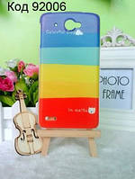 Чехол для Lenovo S920 оригинальная панель накладка с рисунком радужный день