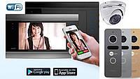 Комплект домофона AVD-720M Wi-Fi - угол обзора 110 гр + камера Hikvision