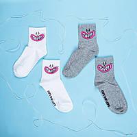 "Шкарпетки DOPE ""Зуби"" white"