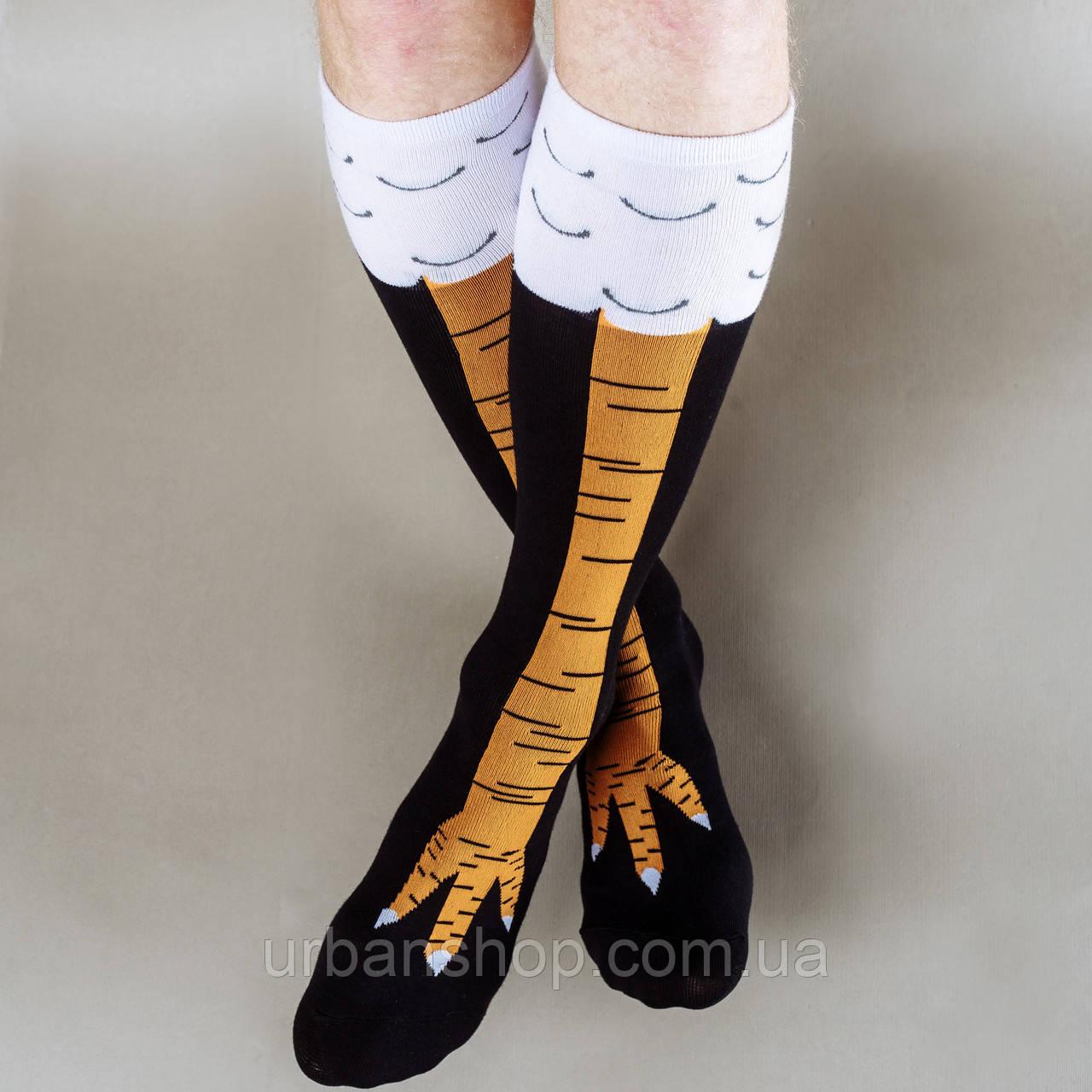 """Шкарпетки """"Курячі лапки"""""""