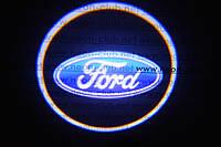 Подсветка дверей авто / лазерная проeкция логотипа  Ford | Форд
