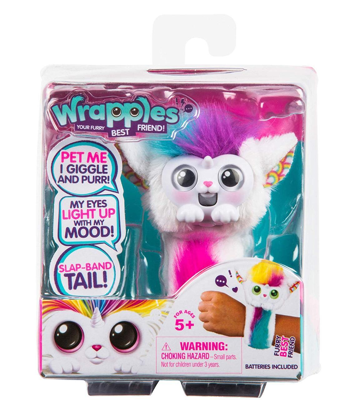 Интерактивная игрушка - браслет Little Live Wrapples – Una