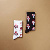 Шкарпетки HUF HUF Amanita muscaria White