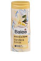 Balea крем-гель для душа ваниль кокос Dusche & Creme Vanille und Cocos 300мл