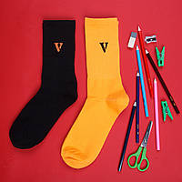 Шкарпетки Vlone Vlone black