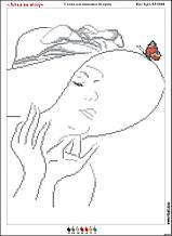 Схема для вышивки бисером Лёгкая как ветер А3 Вит-Арт А3-0344