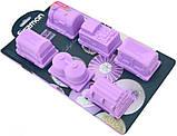 Форма для выпечки Fissman Поезд силиконовая 30х17см, 6 ячеек, фото 2