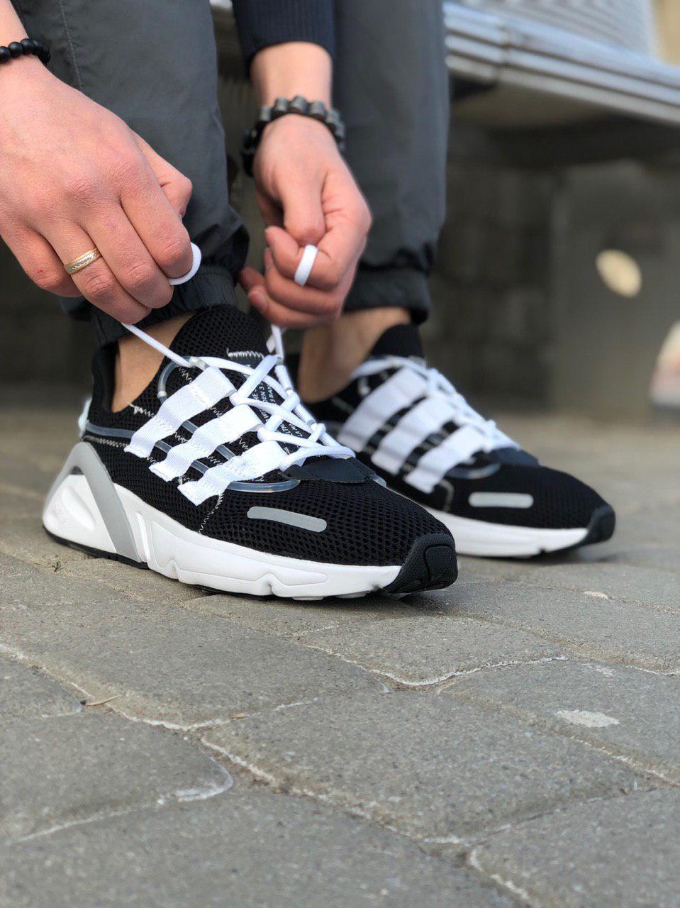 Кроссовки Adidas Lexicon Future Белые-Черные