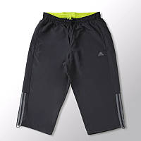 Бриджи спортивные мужские adidas Base 3S Pant 3/4 S21959 (темно-серые, полиэстер, с подкладкой, бренд адидас)