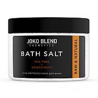 "Соль мертвого моря для ванны ""Чайное дерево-грейпфрут JOKO BLEND 300 гр"