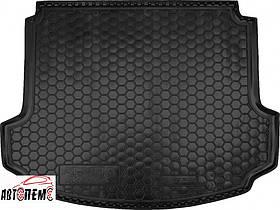 Коврик в багажник для Acura MDX '06-13, резино-пластиковый ТМ AVTO-Gumm