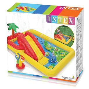 """Детский игровой надувной центр Intex 57454 """"Аквапарк"""" 254х196х79 см, фото 2"""