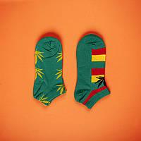 Шкарпетки HUF HUF green & yellow