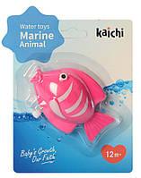 Водоплавающая игрушка K999-209 (Рыбка Розовая)
