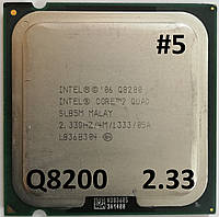Процессор ЛОТ#5 Intel® Core™2 Quad Q8200 M1 SLB5M 2.33GHz 4M Cache 1333 MHz FSB Socket 775 Б/У, фото 1
